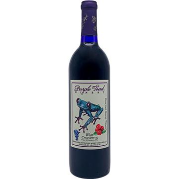 Purple Toad Blue Cranberry