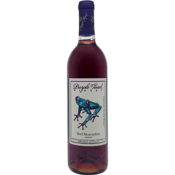 Purple Toad Red Muscadine