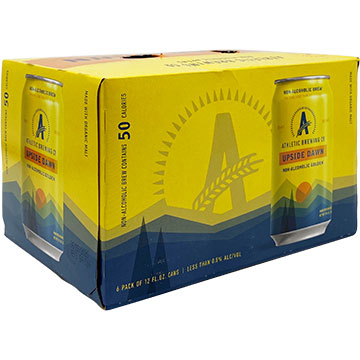 Athletic Brewing Upside Dawn Non-Alcoholic Golden Ale