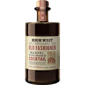 High West Old Fashioned Whiskey Barrel Finished Cocktail