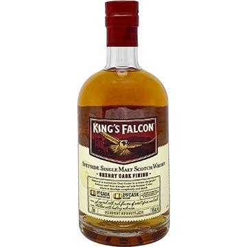 King's Falcon Sherry Cask Finish Single Malt Scotch