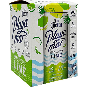 Jose Cuervo Playamar Lime Hard Seltzer