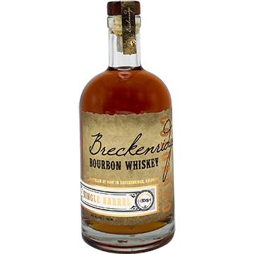 Breckenridge Single Barrel Bourbon Whiskey