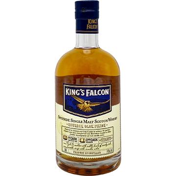 King's Falcon Bourbon Cask Finish Single Malt Scotch