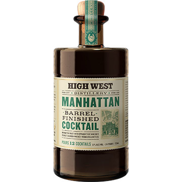 High West Manhanttan Barrel Finished Cocktail
