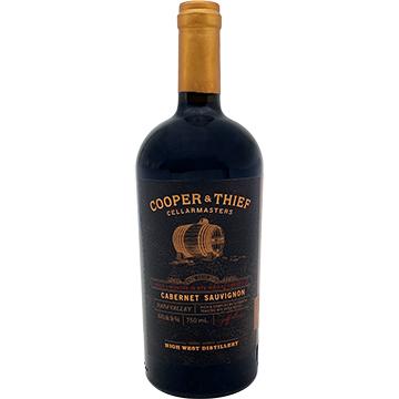 Cooper & Thief Rye Whiskey Barrel Aged Cabernet Sauvignon 2015