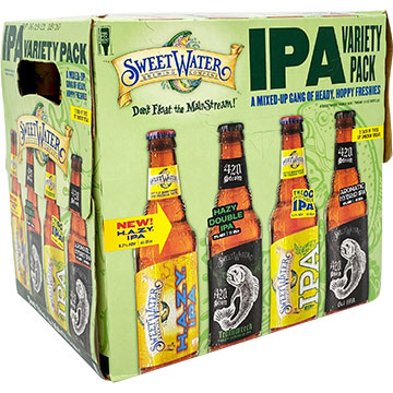 SweetWater IPA Variety Pack