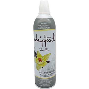 Liquor Whipped Vanilla