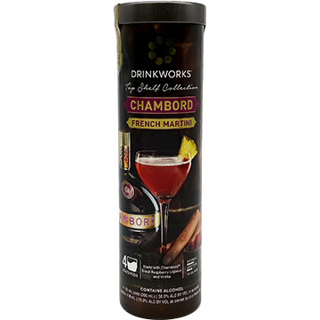Drinkworks Top Shelf Collection Chambord French Martini