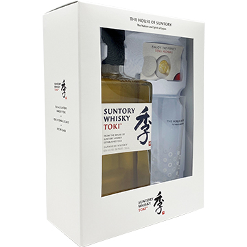 Suntory Toki Whiskey Gift Set with Highball Glass
