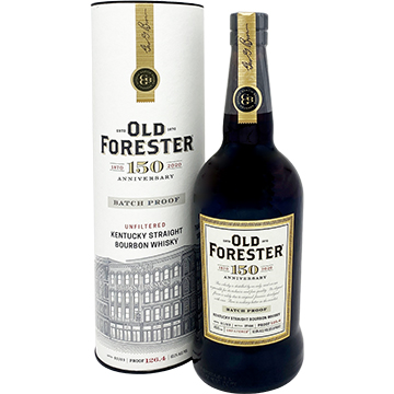 Old Forester 150th Anniversary Batch Proof Bourbon
