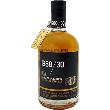 Bruichladdich 1988 The Untouchable 30 Year Old Scotch