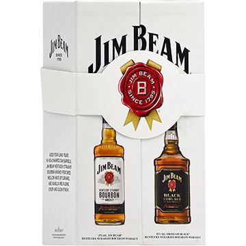 Jim Beam Bourbon Whiskey Gift Pack
