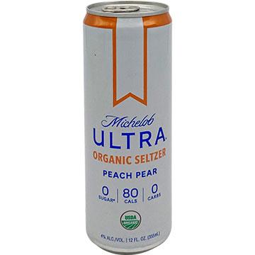 Michelob Ultra Organic Seltzer Peach Pear