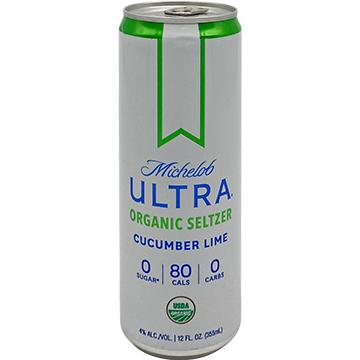 Michelob Ultra Organic Seltzer Cucumber Lime