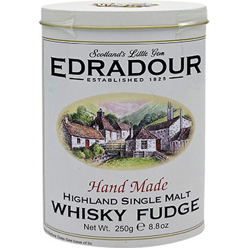 Gardiners Edradour Whiskey Fudge Tin