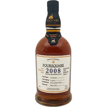 Foursquare 12 Year Old 2008 Cask Strength Rum
