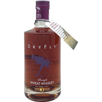 Dry Fly Straight Port Finished Wheat Whiskey