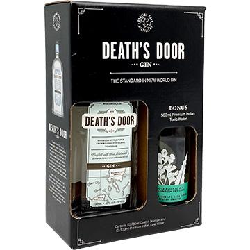 Death's Door Gin Gift Set with 500ml Premium Indian Tonic Water