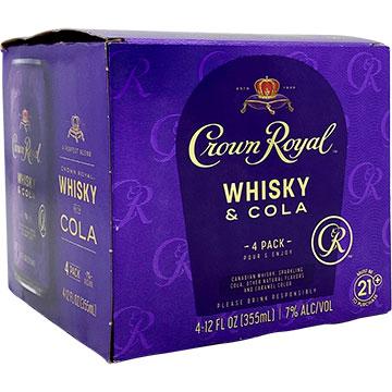 Crown Royal Whiskey & Cola