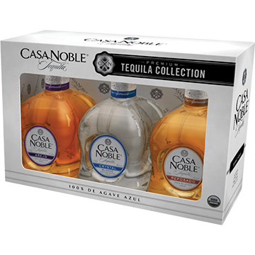 Casa Noble Premium Tequila Collection Gift Set