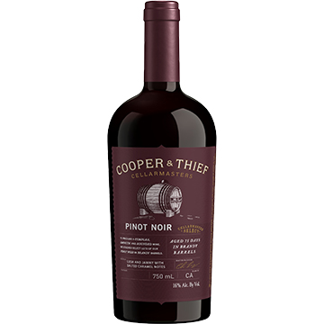 Cooper & Thief Brandy Barrel Aged Pinot Noir