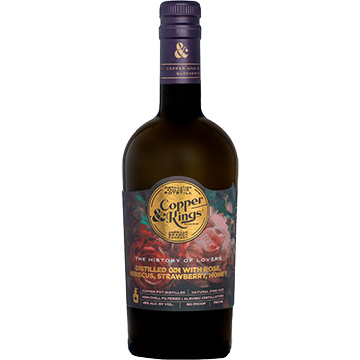 Copper & Kings The History of Lovers Rose Gin
