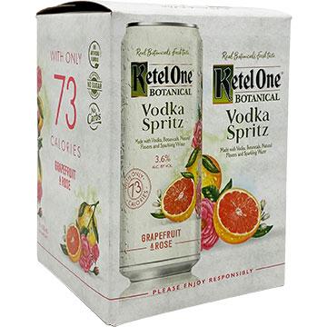 Ketel One Botanical Vodka Spritz Grapefruit & Rose