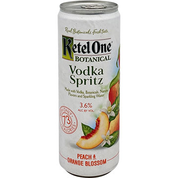 Ketel One Botanical Vodka Spritz Peach & Orange Blossom