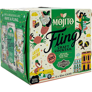 Fling Craft Cocktails Mojito