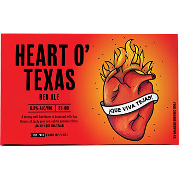 Four Corners Heart O' Texas Red Ale