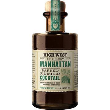 High West Manhanttan Barrel Finished Cocktail