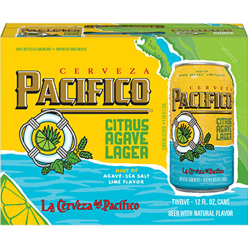 Pacifico Citrus Agave Lager
