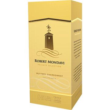 Robert Mondavi Private Selection Buttery Chardonnay 2018