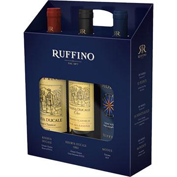 Ruffino Wine Holiday Gift Set of Italian Red Wines