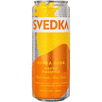 Svedka Mango Pineapple Vodka Soda