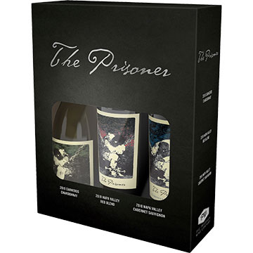 The Prisoner Gift Set of Red Wine and White Wine