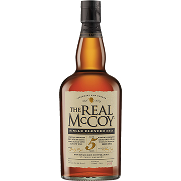 Real McCoy 5 Year Old Single Blended Rum