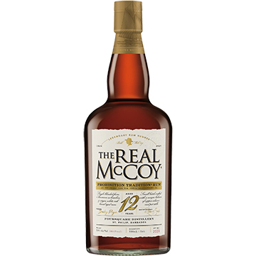 Real McCoy Limited Edition 12 Year Old Bourbon Barrel Aged Rum