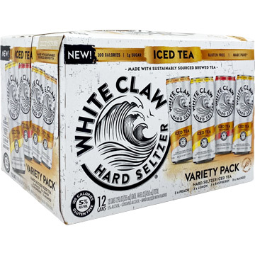 White Claw Hard Seltzer Iced Tea Variety Pack