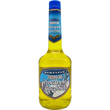 DeKuyper Tropical Pineapple Coconut Liqueur