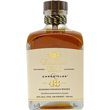 Canadian Club Chronicles 43 Year Old