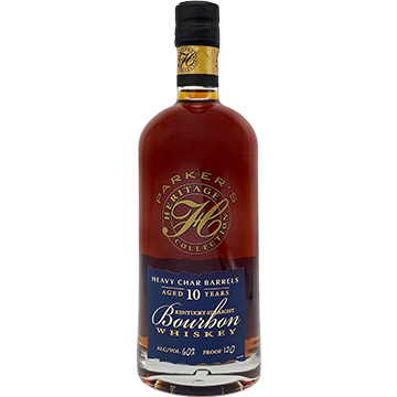 Parker's Heritage Collection 10 Year Old Heavy Char Barrels Bourbon