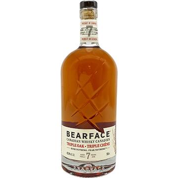 Bearface Triple Oak Canadian Whiskey