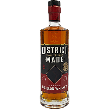 One Eight District Made Straight Bourbon