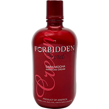 Forbidden Secret Dark Mocha Cream Liqueur