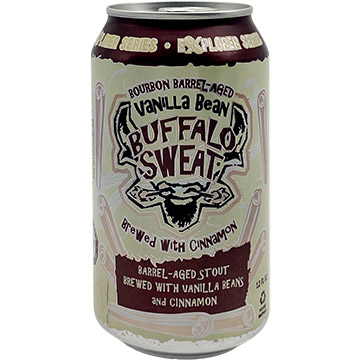 Tallgrass Bourbon Barrel Aged Vanilla Bean Buffalo Sweat with Cinnamon