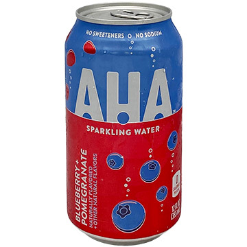 AHA Blueberry + Pomegranate Sparkling Water