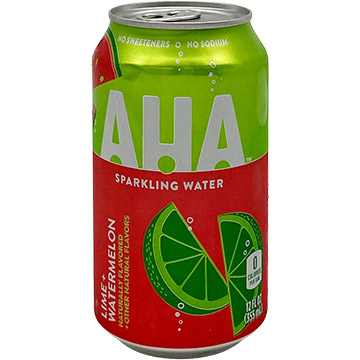 AHA Lime + Watermelon Sparkling Water