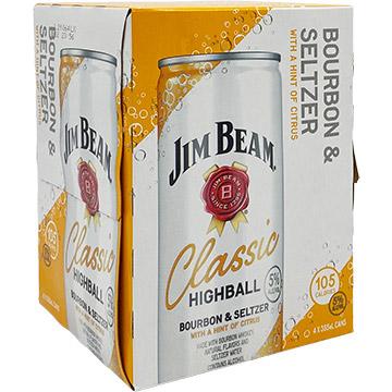Jim Beam Classic Highball Bourbon & Seltzer